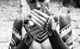 Tatouage bras integral homme