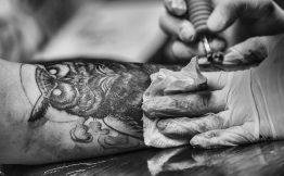 Tatouage homme interieur du bras