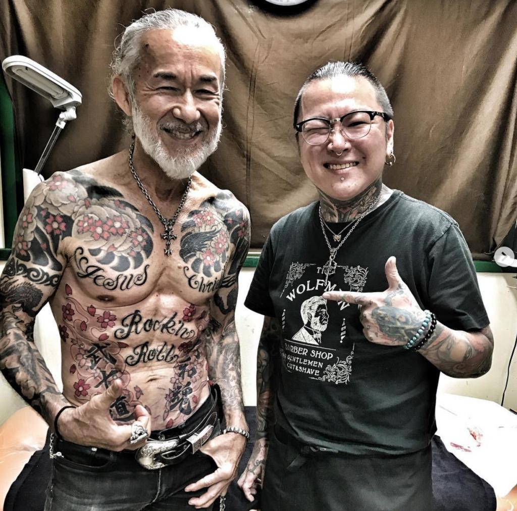 Tatouage bras homme japonais - Tatouage Bras